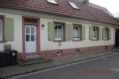 Breisach Fassade mit Denkmalschutz